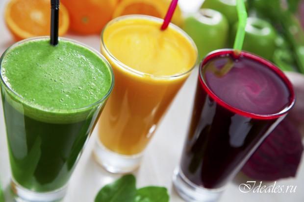 Полезность соков на завтрак
