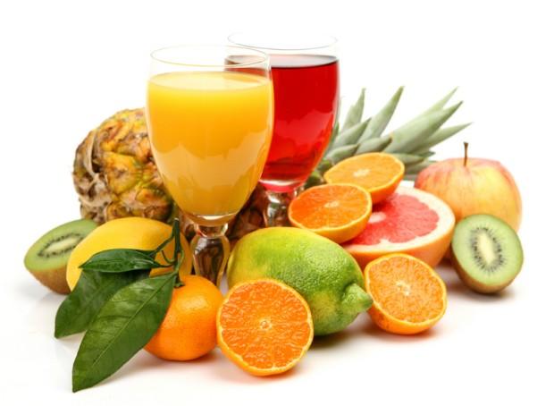 Полезность витаминов в соках