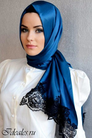 Как красиво завязать платок на голову мусульманке