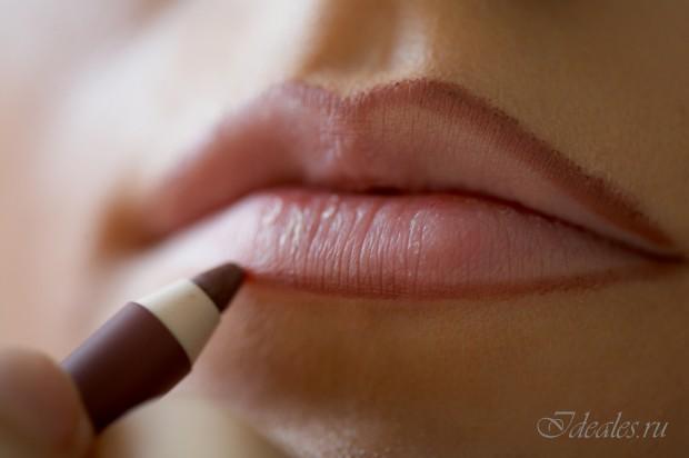 Как визуально увеличить губы. Объем губ