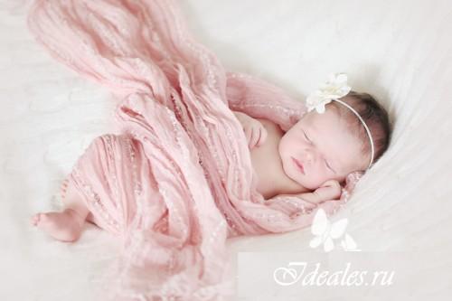 Уход за новорождённой девочкой