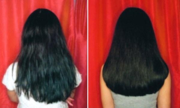 Биоламинирование. Фото до и после процедуры