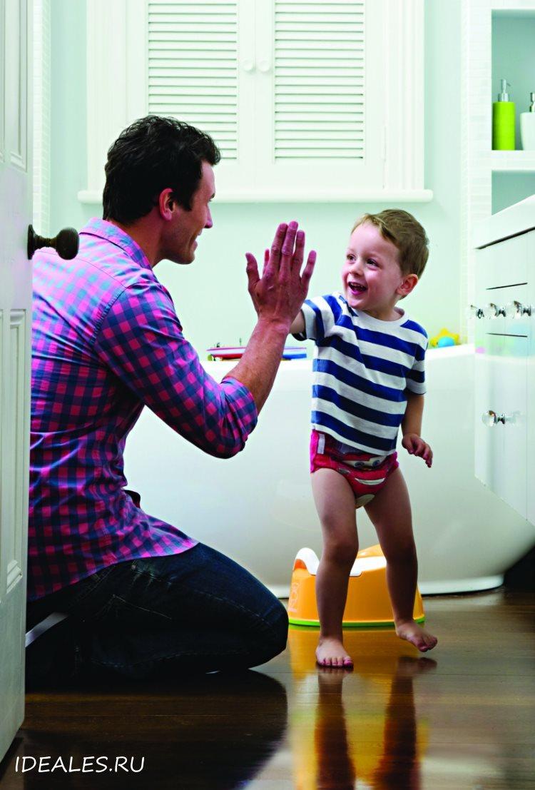 Как приучить ребенка к горшку за 3 дня