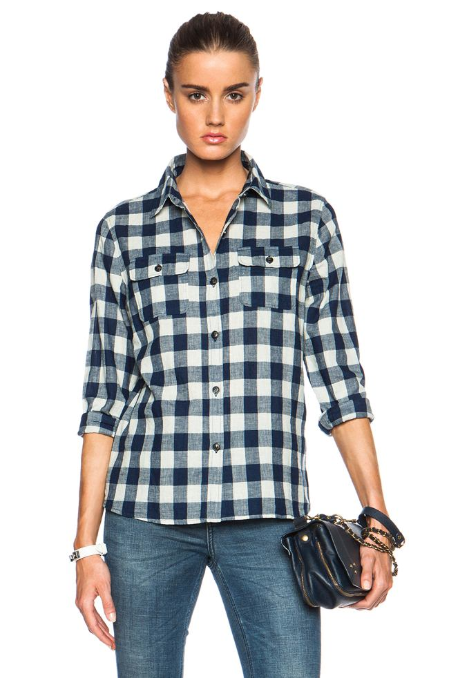 С чем одеть клетчатую рубашку (заметка моднице)