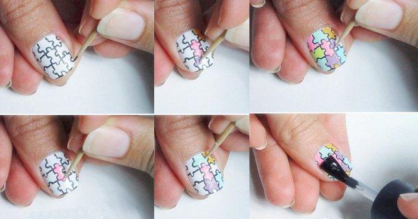 Как покрасить ногти красиво в домашних условиях