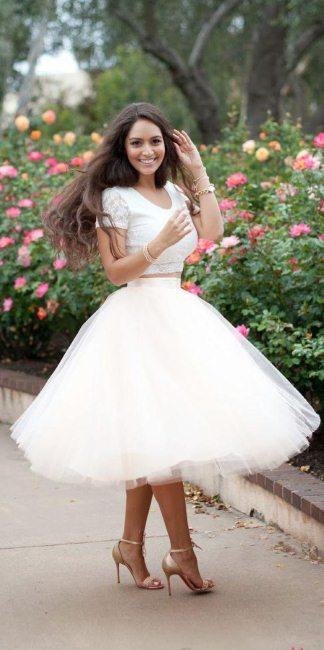Модные тенденции — юбки пачки 2016
