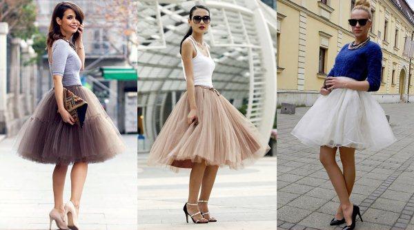 Юбка пачка: с чем носить, фото для девушек