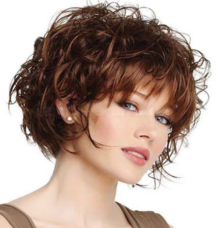 Стрижки женские на кудрявых волосах