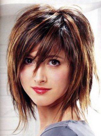 Мелирование вьющихся волос коротких стрижек