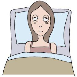 Утреннее недосыпание или много воды на ночь