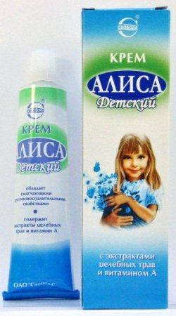 Детский крем от аллергии на коже (мазь)