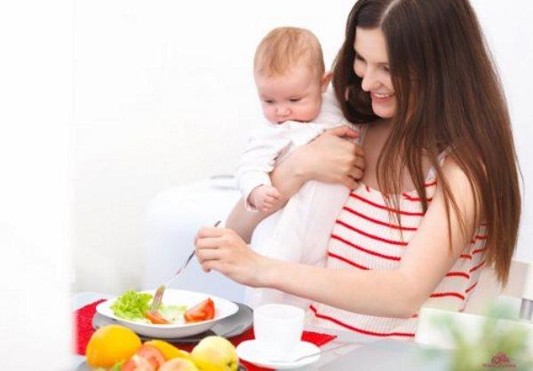 Диета для кормящих матерей для похудения: примерное меню