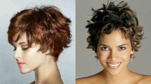 Какая стрижка подойдет для вьющихся волос. Фото