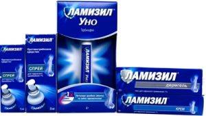 Ламизил — лак для ногтей против грибка. Цена