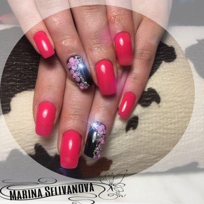Мастер маникюра и наращивания ногтей - Селиванова Марина