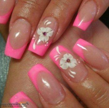 Нарощенные ногти (фото). Квадратные — самые красивые