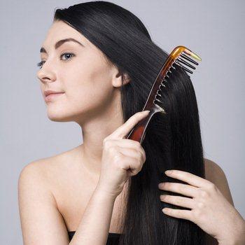 Сухие волосы после окрашивания