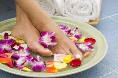 Ванночки для кожи ног