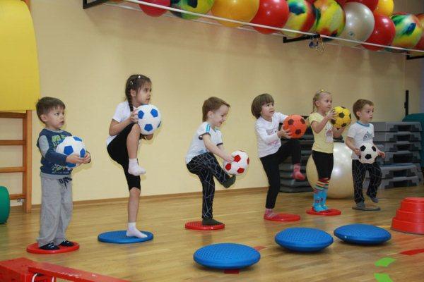 физического воспитания детей