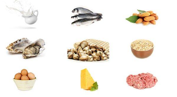 Продукты, богатые витамином группы Б