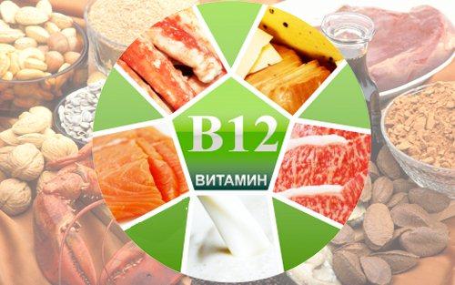 Витамин в12 в каких продуктах содержится. Таблица продуктов