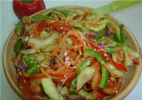 Кабачки маринованные по корейски быстрого приготовления. Рецепты