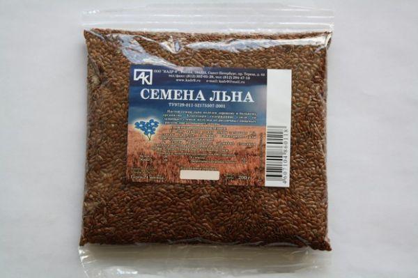 Как пить семя льна для очищения организма