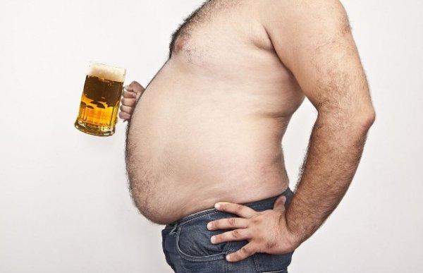 Как уменьшить пивной живот у мужчин