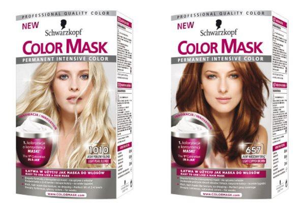 Краска для волос «Шварцкопф Колор Маск»: палитра