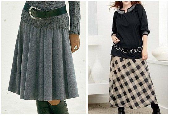 Модные юбки для женщин после 45 лет