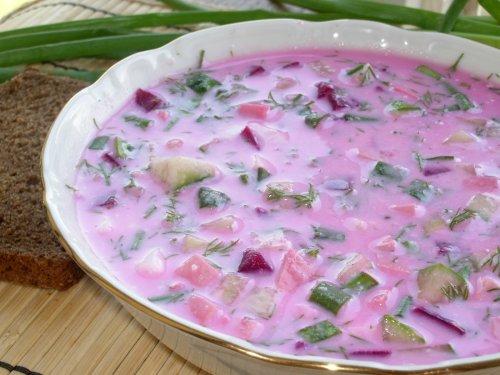 Суп холодник со свеклой: рецепт