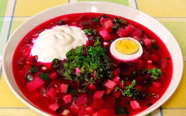 Суп свекольник горячий: рецепт (пошаговый)