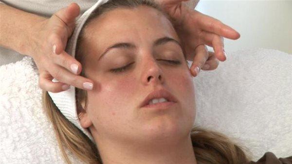 Точки на лице для массажа для омоложения