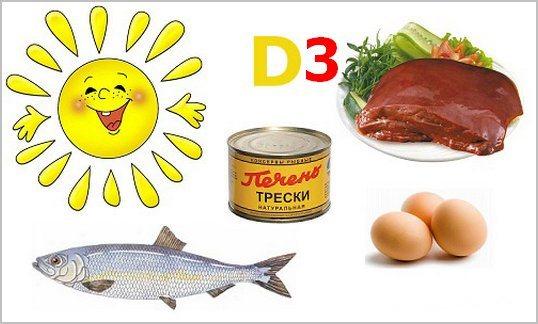 Витамин Д 3: в каких продуктах содержится