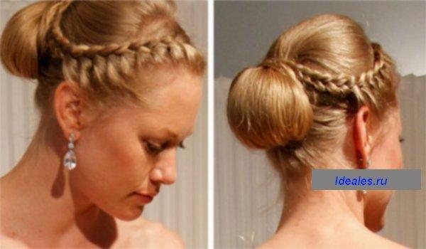 Греческие прически на средние волосы (пошагово)