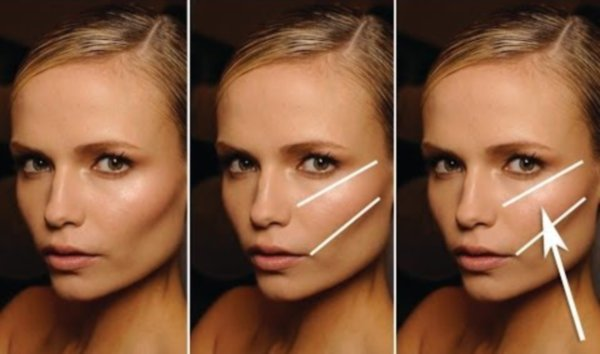 Как сделать скулы на лице – профессиональный макияж