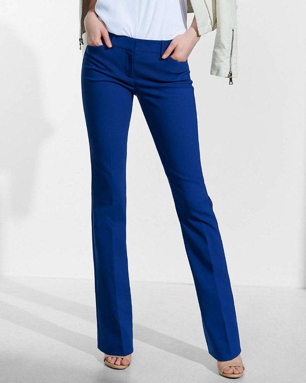 Модные синие брюки (женские) — с чем носить?