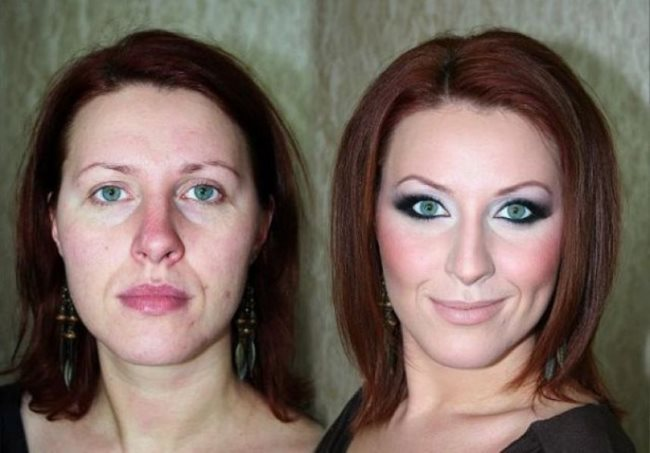 Модный макияж после 45 лет — пошаговое выполнение