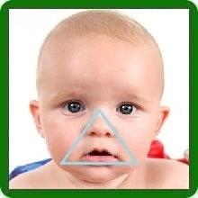 Синий цвет носогубный треугольник у грудничка приобретает в силу разных причин
