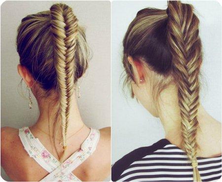 Прически из кос на длинные волосы пошагово
