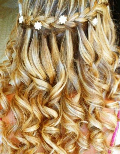 Прически из кос на длинные волосы (пошагово)