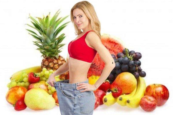 Фруктово-овощная диета - одна из лучших летних диет для похудения