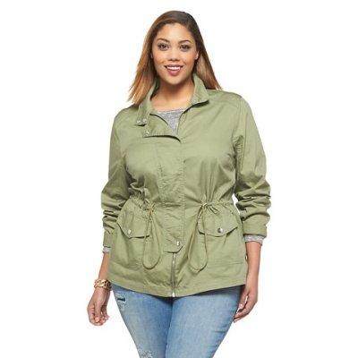 Стильные куртки больших размеров для женщин