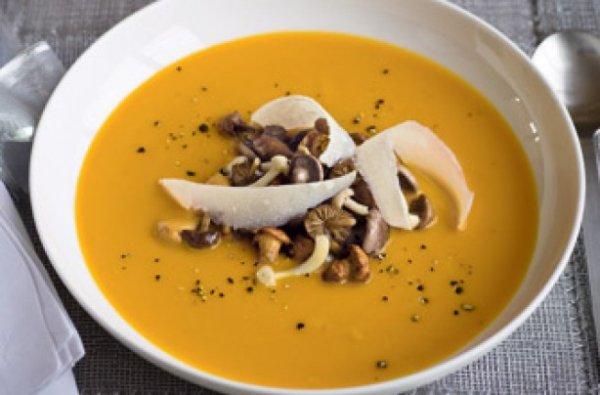 тыквенный суп-пюре рецепт классический с фото