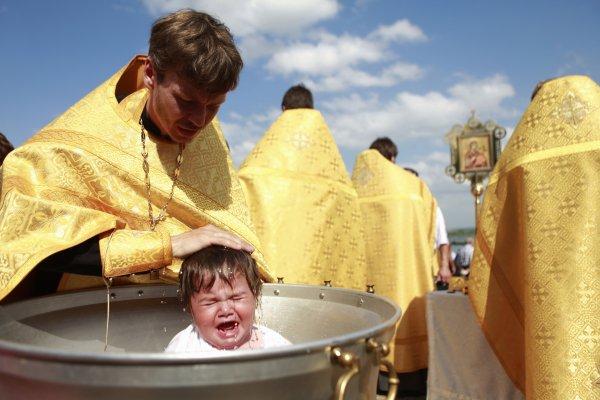 Зачем крестят ребенка
