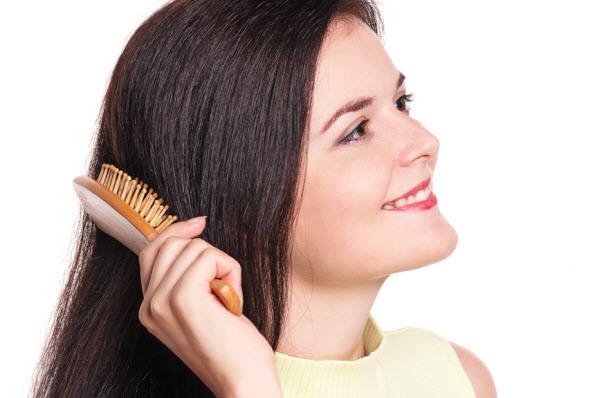 Маска против выпадения волос с оливковым маслом и солью