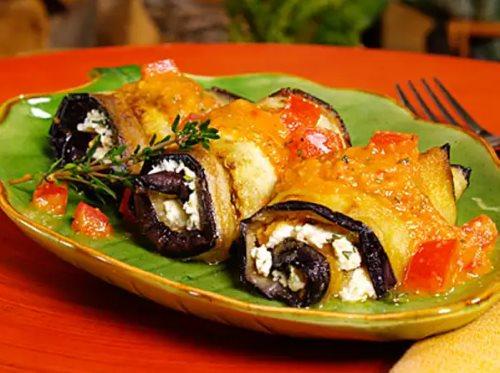 Баклажаны: рецепты быстро и вкусно. Рулетики из баклажан