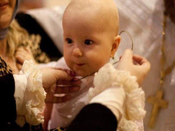 Что нужно для крещения ребенка в церкви