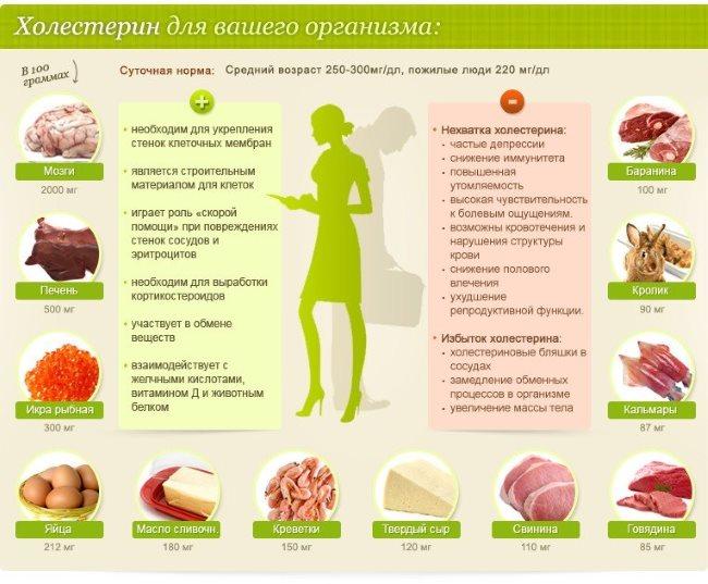 высокий холестерин крови женщин