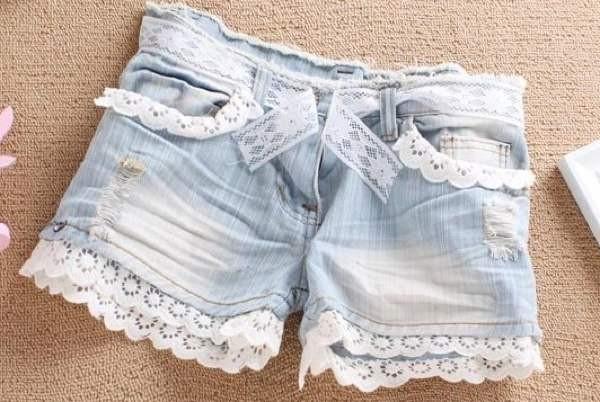 Как из джинсовой юбки сделать шорты, Секреты красоты и здоровья женщины